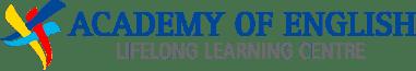 Academy of English Logo